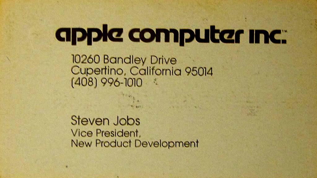 Steve Jobs « El blog de Moebius