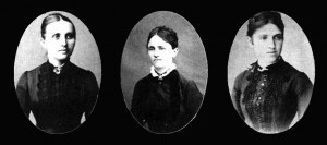 Hermanas Milka, Angelina y Marica Tesla.