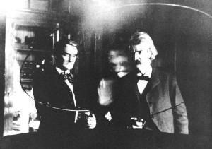 Mark Twain y Tesla