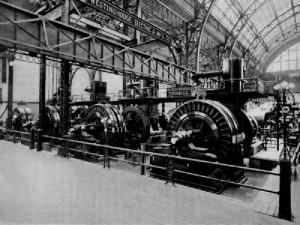 Tesla generador  AC  1893 Chicago