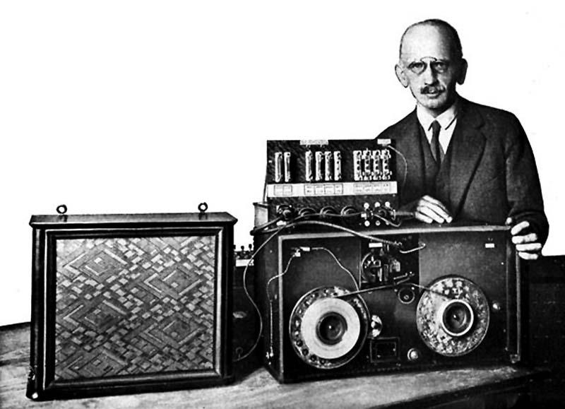 Resultado de imagen para la primer grabadora de cinta