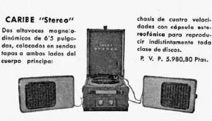 1965 Caribe stereo