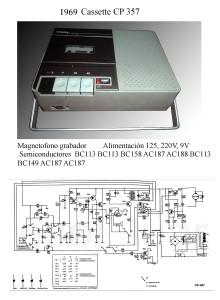 1969 Cassette CP 357