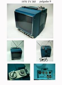 1970 TV 385 9 pulgadas