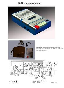 1971 Cassette CP 390