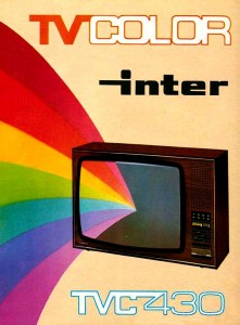 1975 Anuncio TV color