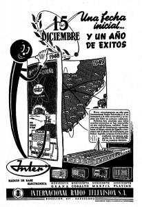 Anuncio 1949