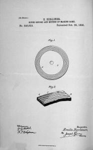 Berliner patente disco 01