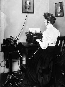 Dictado fonografo